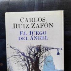 Libros de segunda mano: EL JUEGO DEL ÁNGEL- CARLOS RUIZ ZAFÓN. Lote 206470522