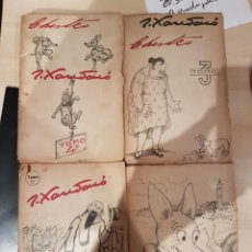Libros de segunda mano: 1945 4 TOMOS CHISTES DE JOAQUIN XAURADO MUY RARO. Lote 206580828