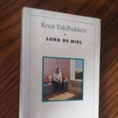 Libros de segunda mano: LUNA DE MIEL. KNUT FALDBAKKEN. MUCHNIK EDITORES. RÚSTICA. BUEN ESTADO. DIFICIL. Lote 206789622