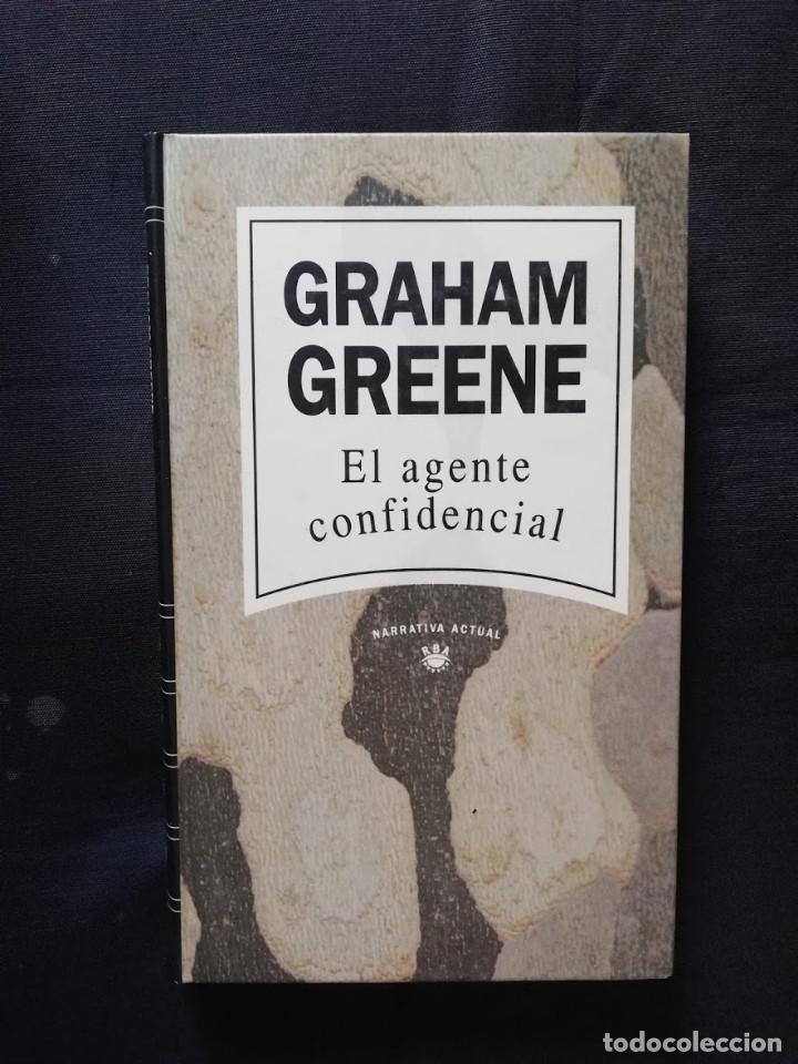 EL AGENTE CONFIDENCIAL - GRAHAM GREENE (Libros de Segunda Mano (posteriores a 1936) - Literatura - Narrativa - Otros)