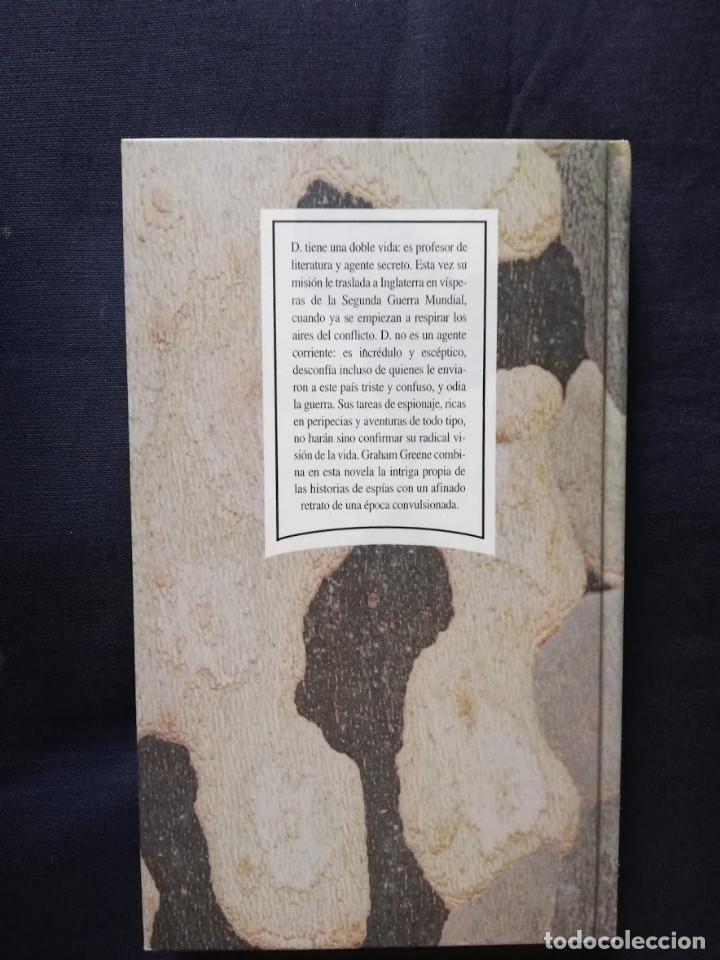 Libros de segunda mano: El agente confidencial - Graham Greene - Foto 2 - 206813887