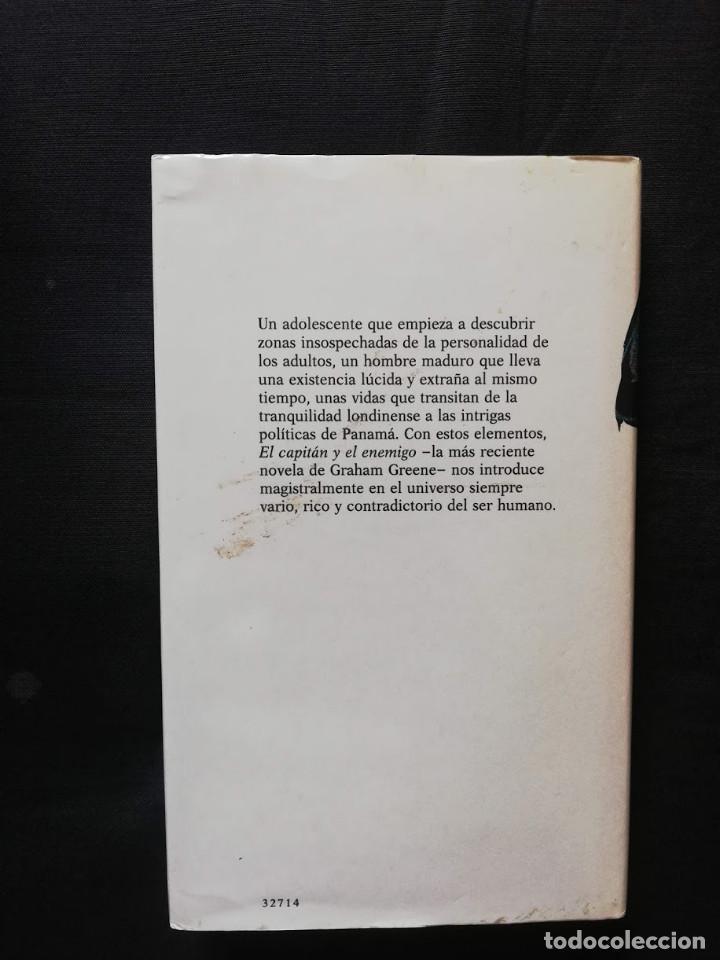 Libros de segunda mano: El capitán y el enemigo - Graham Greene - Foto 2 - 206815452