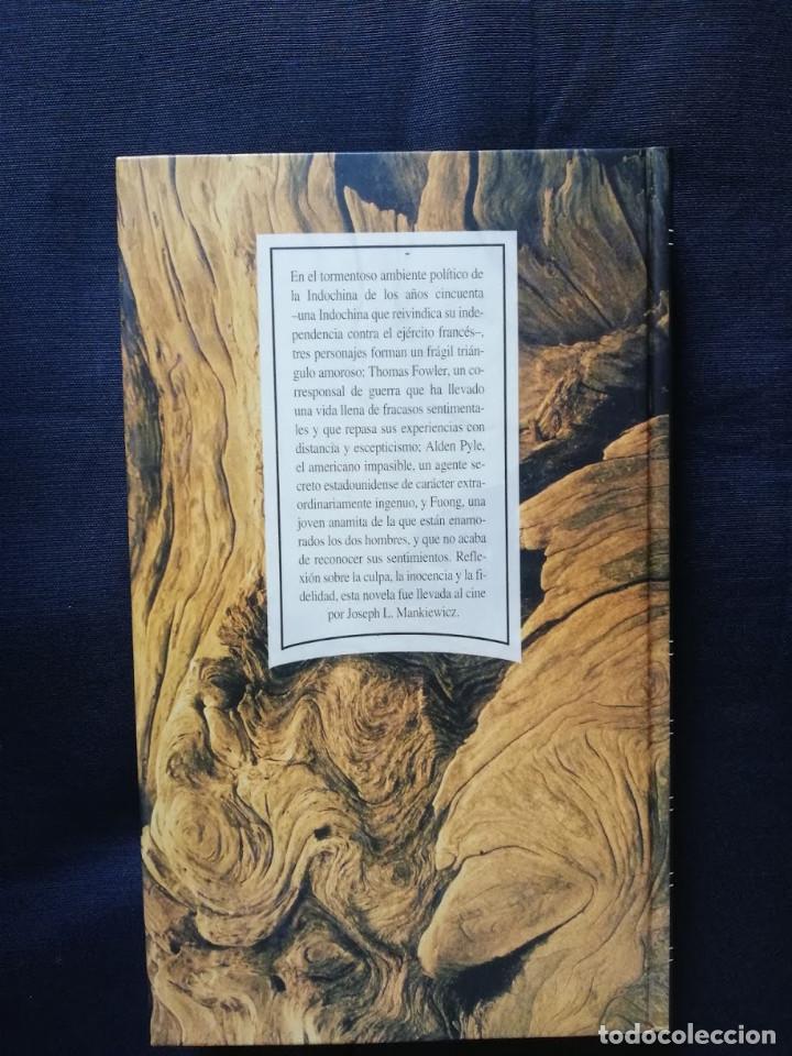 Libros de segunda mano: El americano impasible - Graham Greene - Foto 2 - 206816590
