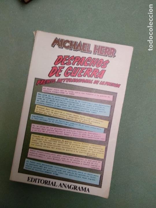 DESPACHOS DE GUERRA - MICHAEL HERR (Libros de Segunda Mano (posteriores a 1936) - Literatura - Narrativa - Otros)