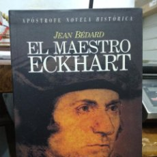 Livres d'occasion: EL MAESTRO ECKHART, JEAN BÉDARD. L.14508-813. Lote 206871805