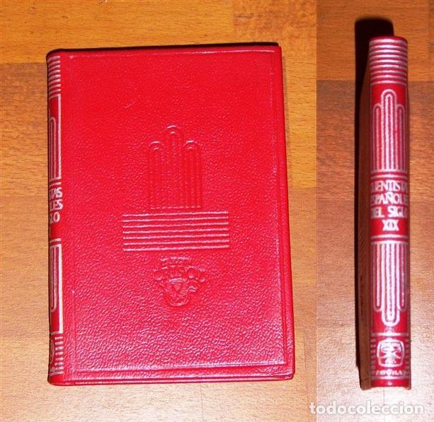 CUENTISTAS ESPAÑOLES DEL SIGLO XIX (CRISOL ; 105) / SELEC. Y NOTAS.. FEDERICO CARLOS SÁINZ DE ROBLES (Libros de Segunda Mano (posteriores a 1936) - Literatura - Narrativa - Otros)
