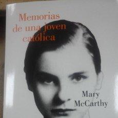 Libros de segunda mano: MEMORIAS DE UNA JOVEN CATÓLICA (BARCELONA, 2019). Lote 206927192