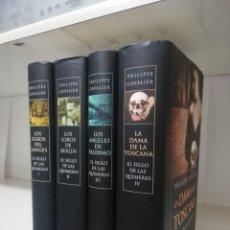 Libros de segunda mano: EL SIGLO DE LAS QUIMERAS - 4 TOMOS COMPLETA - PHILIPPE CAVALIER COMPLETO. Lote 207045098