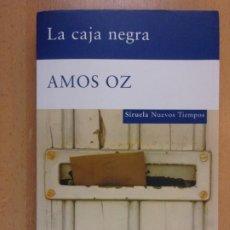 Livres d'occasion: LA CAJA NEGRA / AMOS OZ / 2008. SIRUELA. Lote 207478217