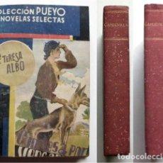 Libros de segunda mano: COLECCIÓN PUEYO DE NOVELAS SELECTAS. DOS VOLÚMENES CON CUATRO NOVELAS. AÑOS 40 (VER DESCRIPCIÓN). Lote 207753835