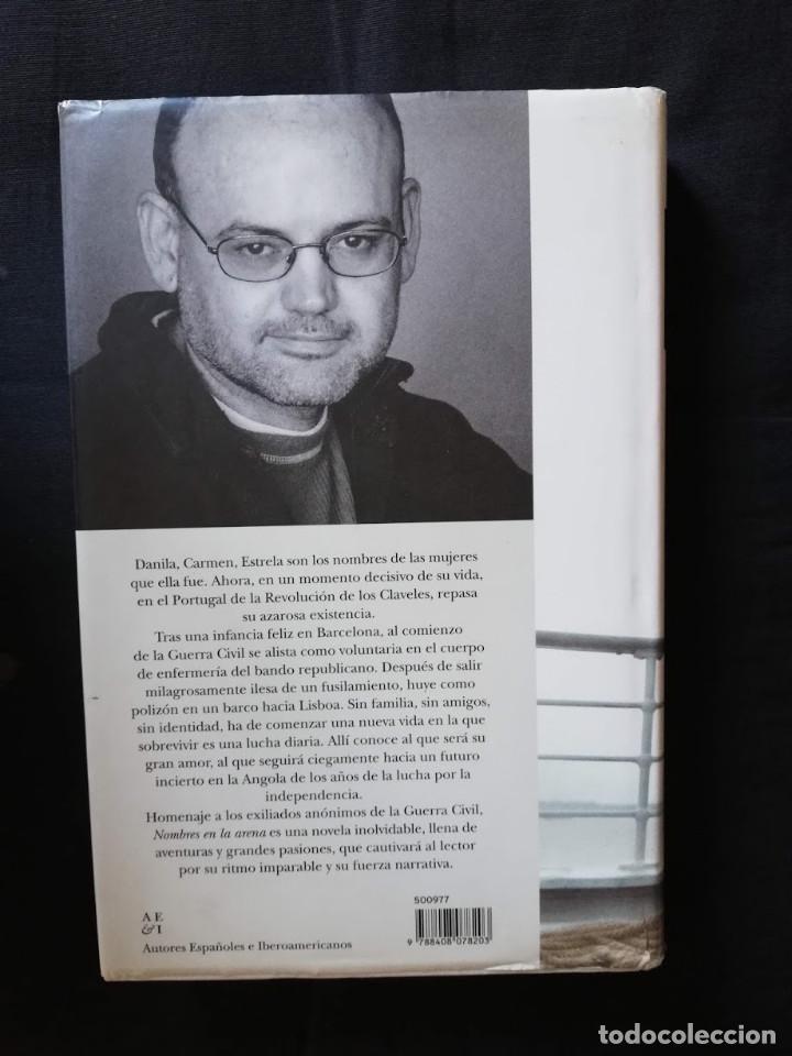 Libros de segunda mano: NOMBRES EN LA ARENA - LLUÍS ANTON BAULENAS - Foto 2 - 207757405