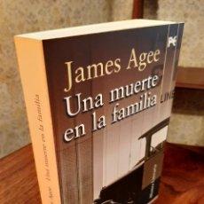 Libri di seconda mano: JAMES AGEE - UNA MUERTE EN LA FAMILIA. Lote 207872837
