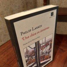 Livros em segunda mão: PHILIP LARKIN - UNA CHICA EN INVIERNO. Lote 207876488