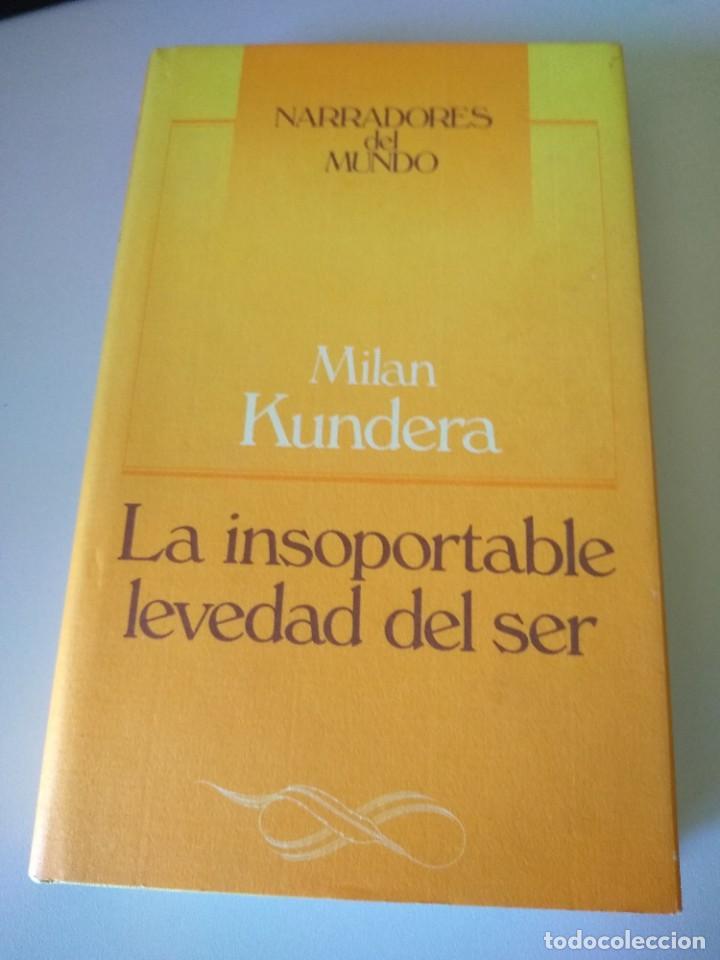 Libro La Insoportable Levedad Del Ser Milan Kun