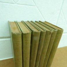 Libros de segunda mano: OBRAS COMPLETAS DE FEDERICO GARCIA LORCA. ED. LOSADA, 1944. 4ª ED. ARGENTINA. 7 TOMOS.. Lote 207934608