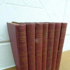 Libros de segunda mano: OBRAS COMPLETAS DE FEDERICO GARCIA LORCA. ED. LOSADA, 1944. 4ª ED. ARGENTINA. 7 TOMOS.. Lote 207953378