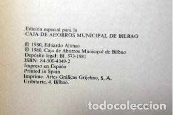 Libros de segunda mano: EL MAR INMOVIL - EDUARDO ALONSO - BILBAO 1980 - Foto 3 - 208255635