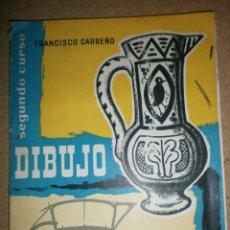 Libros de segunda mano: DIBUJO 2º CURSO DE FRANCISCO CARREÑO ED. MARFIL. Lote 208424805