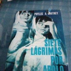 Libros de segunda mano: LIBRO, SIETE ALMAS POR APOLO, PHYLLIS A WHITNEY. Lote 208438337