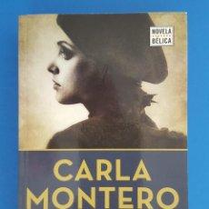 Libros de segunda mano: LIBRO / CARLA MONTERO - LA TABLA ESMERALDA / NOVELA BELICA. Lote 208596712