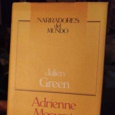 Libros de segunda mano: JULIEN GREEN. ADRIENNE MESURAT. CIRCULO 1990. Lote 208649060