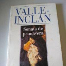 Libros de segunda mano: SONATA DE PRIMAVERA VALLE INCLAN ALIANZA CIEN. Lote 208689915