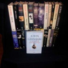 Libros de segunda mano: COLECCION DE 24 LIBROS DE JOHN GRISHAM - VARIAS EDITORIALES. Lote 208840427