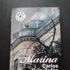 Libros de segunda mano: MARINA CARLOS RUIZ ZAFON. Lote 74726307