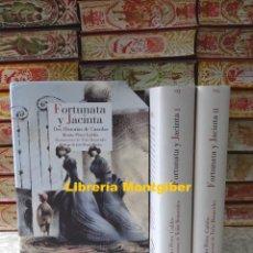 Libros de segunda mano: FORTUNATA Y JACINTA . DOS HISTORIAS DE CASADAS . 2 VOLS. AUTOR : PEREZ GALDOS , BENITO. Lote 208904023