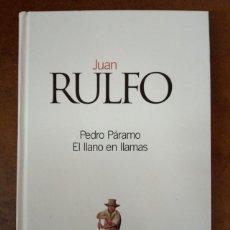 Livres d'occasion: PEDRO PARAMO / EL LLANO EN LLAMAS (JUAN RULFO) CLASICOS DEL SIGLO XX EL PAIS - CARTONE - OFI15J. Lote 208927248