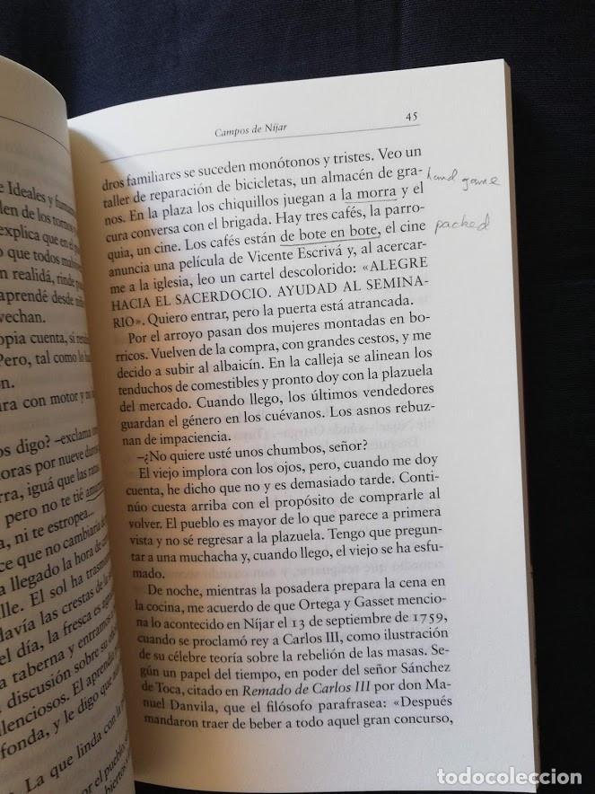 Libros de segunda mano: CAMPOS DE NÍJAR - JUAN GOYTISOLO - GALAXIA GUTENBERG - Foto 3 - 209120490