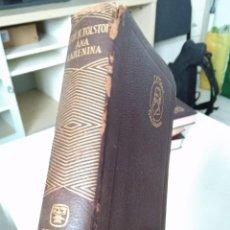 Libros de segunda mano: LEON TOLSTOI. ANA KARENINA. EDITORIAL AGUILAR. 1963. Lote 209129082