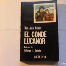 Libros de segunda mano: EL CONDE LUCANOR. Lote 209147225