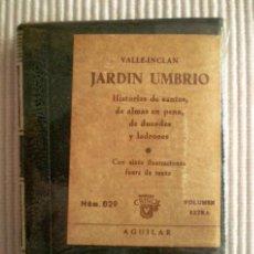 Libros de segunda mano: JARDÍN UMBRÍO (VALLE INCLÁN) CRISOLÍN 029. 1969. PRECINTADO DE ORIGEN. Lote 273735488