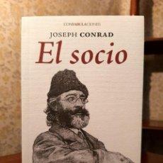 Libros de segunda mano: JOSEPH CONRAD - EL SOCIO. Lote 209600445