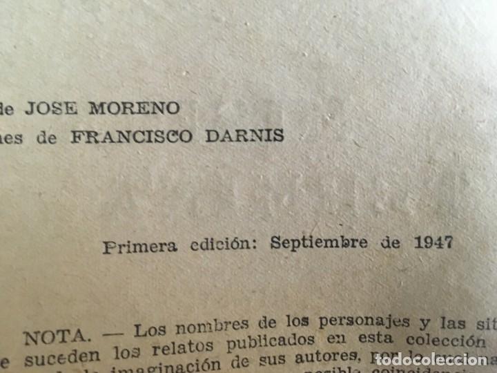 Libros de segunda mano: novela el encapuchado,nº 24 de 1947 y riesgo coleccion el negro del narcissus, de joseph conrad 1944 - Foto 2 - 209826493