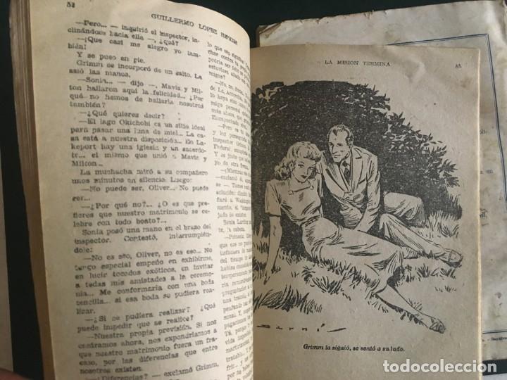 Libros de segunda mano: novela el encapuchado,nº 24 de 1947 y riesgo coleccion el negro del narcissus, de joseph conrad 1944 - Foto 5 - 209826493