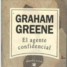 Livres d'occasion: GRAHAM GREENE EL AGENTE CONFIDENCIAL. NARRATIVA ACTUAL ALIANZA EDITORIAL.. Lote 209897502