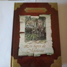 Libros de segunda mano: AVENTURAS DE EMILIO SALGARI LOS TIGRES DE MALASIA. Lote 209901185