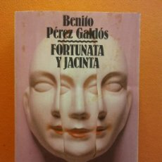 Libros de segunda mano: FORTUNATA Y JACINTA. BENITO PÉREZ GALDÓS. ALIANZA EDITORIAL. Lote 210019075