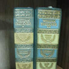 Libros de segunda mano: WILLIAM FAULKNER. NOVELAS ESCOGIDAS. TOMOS I - II. BIBLIOTECA PREMIOS NOBEL. AGUILAR 1960. Lote 210022948