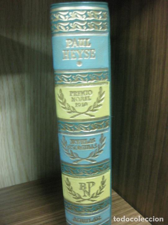 PAUL HEYSE. NOVELAS ESCOGIDAS. BIBLIOTECA PREMIOS NOBEL. AGUILAR 1957 (Libros de Segunda Mano (posteriores a 1936) - Literatura - Narrativa - Otros)