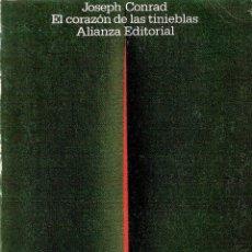 Libros de segunda mano: EL CORAZON DE LAS TINIEBLAS - JOSEPH CONRAD. Lote 210072697