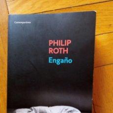 Libros de segunda mano: ENGAÑO. PHILIP ROTH. Lote 210120276
