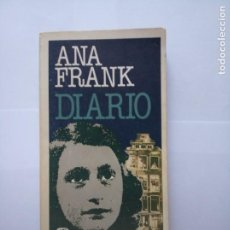Livres d'occasion: DIARIO ANNA FRANK PLAZA & JANES. Lote 210240155