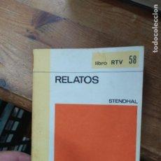 Libros de segunda mano: RELATOS, STENDHAL. L.11649-1375. Lote 210273870