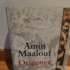 Libros de segunda mano: AMIN MAALOUF ORÍGENES. Lote 210464993