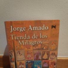 Libros de segunda mano: JORGE AMADO TIENDA DE LOS MILAGROS. Lote 210465035
