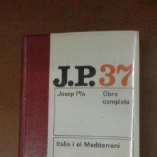 Libros de segunda mano: OBRA COMPLETA DE JOSEP PLA DEL TOMO 1 AL 45 SEGUIDOS ENCUADERNADOS EN PIEL BUEN ESTADO. Lote 210520130