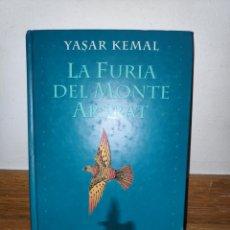 Libros de segunda mano: YASAR KEMAL LA FURIA DEL MONTE ARARAT. Lote 210660656